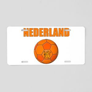 Nederland voetbal soccer Aluminum License Plate