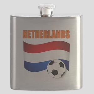 Netherlands soccer Flask