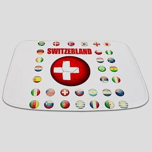 Switzerland soccer Bathmat