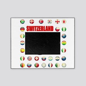 Switzerland soccer Picture Frame