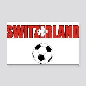 Switzerland soccer Rectangle Car Magnet