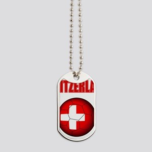 Switzerland soccer Dog Tags