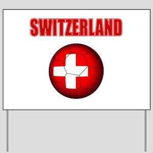 Switzerland soccer Yard Sign