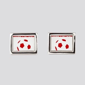 Switzerland soccer Rectangular Cufflinks