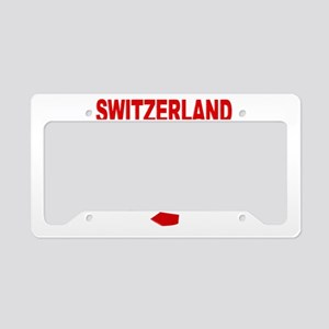 Switzerland soccer License Plate Holder