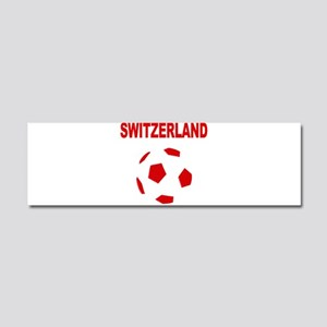 Switzerland soccer Car Magnet 10 x 3