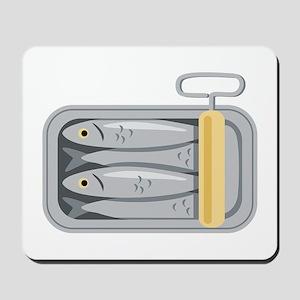 Sardine Fish Can Mousepad