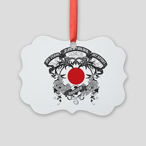 Japan Soccer Picture Ornament