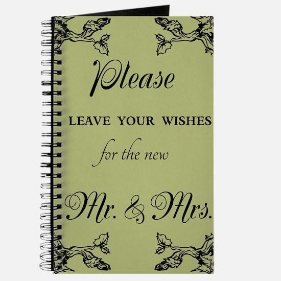 Wedding Guest Book Design Journal