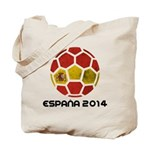 Spain World Cup 2014 Tote Bag
