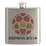 Spain World Cup 2014 Flask