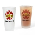Spain World Cup 2014 Drinking Glass