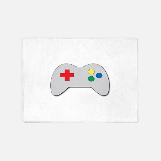 Game Controller 5'x7'Area Rug