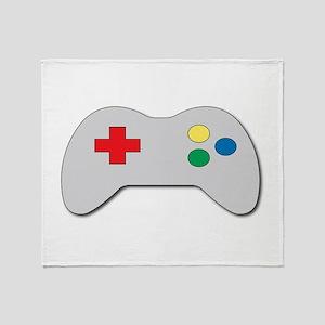 Game Controller Throw Blanket