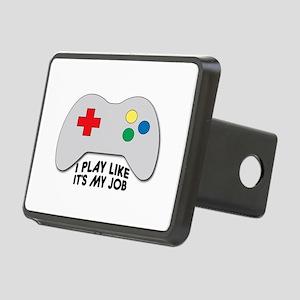 I Play Like Its My Job Hitch Cover