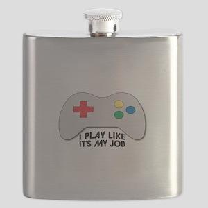 I Play Like Its My Job Flask