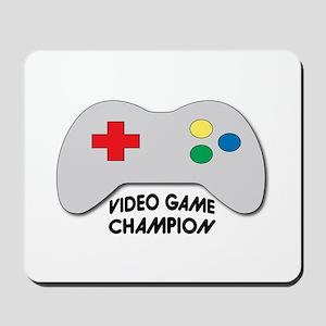Video Game Champion Mousepad