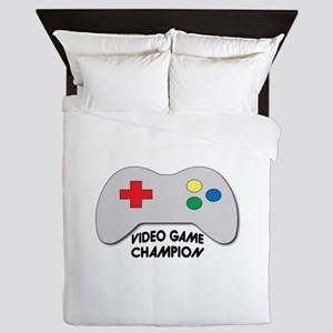 Video Game Champion Queen Duvet