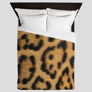 Leopard fur Queen Duvet