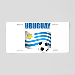 Uruguay soccer futbol Aluminum License Plate