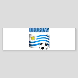 Uruguay soccer futbol Bumper Sticker