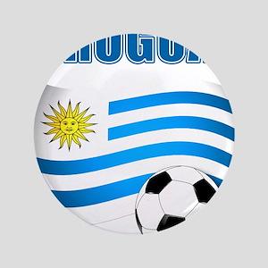 "Uruguay soccer futbol 3.5"" Button"