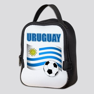 Uruguay soccer futbol Neoprene Lunch Bag