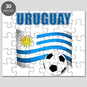 Uruguay soccer futbol Puzzle