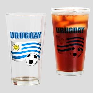 Uruguay soccer futbol Drinking Glass