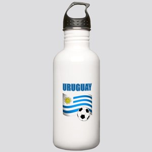 Uruguay soccer futbol Water Bottle