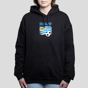 Uruguay soccer futbol Women's Hooded Sweatshirt