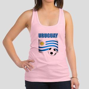 Uruguay soccer futbol Racerback Tank Top