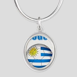 Uruguay soccer futbol Necklaces