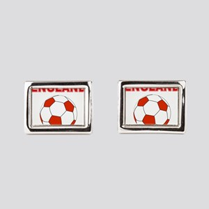 England Football Rectangular Cufflinks