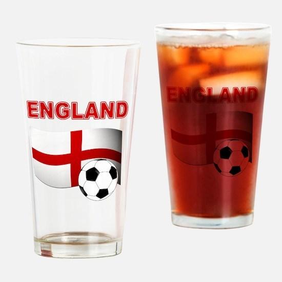 England Football Drinking Glass