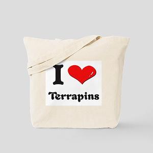 I love terrapins Tote Bag