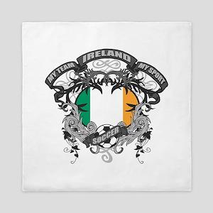 Ireland Soccer Queen Duvet