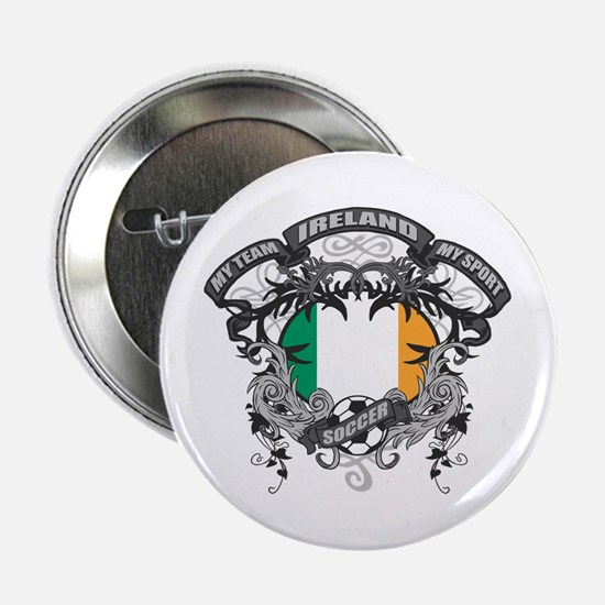 """Ireland Soccer 2.25"""" Button"""