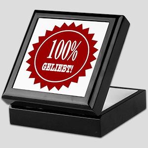 100 % Geliebt Keepsake Box