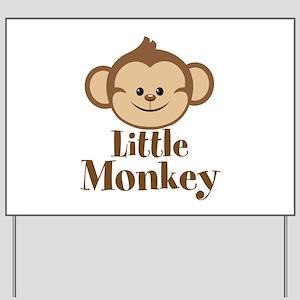 Cute Little Monkey Yard Sign