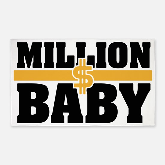 MILLION DOLLAR BABY 3'x5' Area Rug