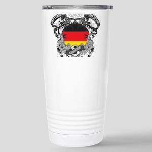 Germany Soccer Stainless Steel Travel Mug