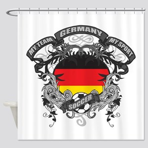 Germany Soccer Shower Curtain