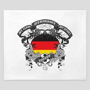 Germany Soccer King Duvet