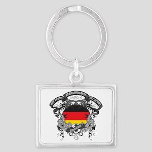 Germany Soccer Landscape Keychain