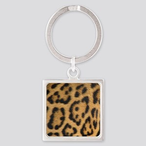 Leopard fur Keychains