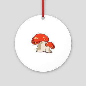 Mushrooms Ornament (Round)
