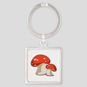Mushrooms Keychains