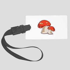Mushrooms Luggage Tag
