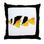 Sebae Anemonefish Throw Pillow